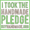 I Took The Handmade Pledge! BuyHandmade.org